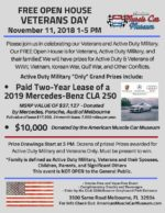 American Muscle Car Museum's Veterans Day FREE Open House
