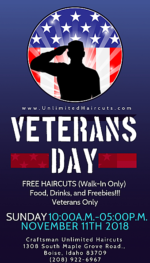 Craftsman Unlimited Haircuts – Free Haircut, Food and Freebies