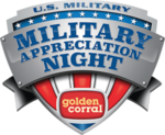Golden Corral Free Meal for Veterans