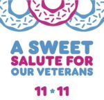 Dunkin' Donuts Veterans Day Free Donut