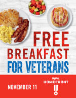 Hy-Vee Veterans Day FREE Breakfast