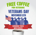 Cumberland Farms FREE Hot or Cold Coffee on Veterans Day