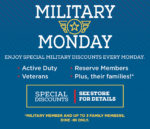 Hometown Buffet Military Monday Discount