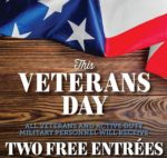 Margaritas Mexican Restaurant FREE Meal on Veterans Day (and one FREE for your guest)
