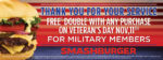 Smashburger Veterans Day FREE Double (Purchase Required)